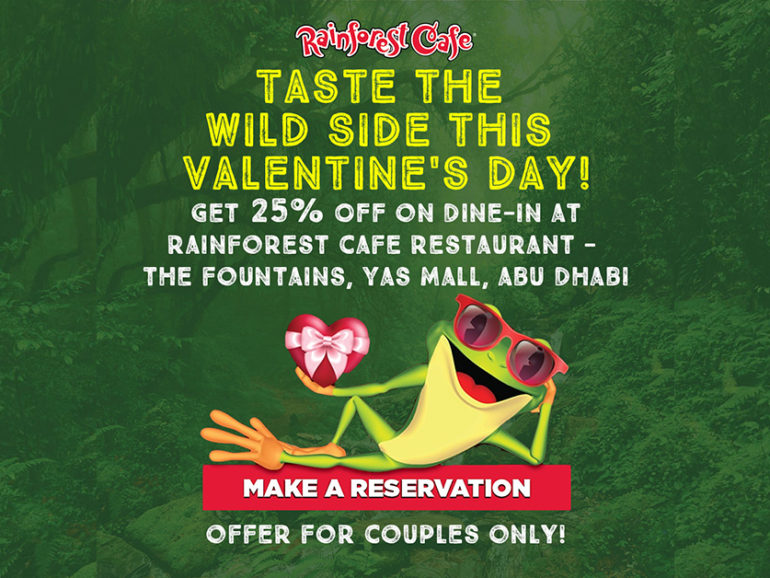 *Valentine's Day Offer* at The Fountains, Yas Mall